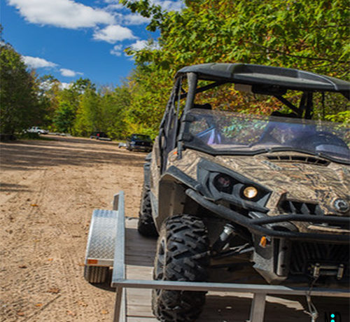 Parrish Wisconsin Langlade County ATV UTV Trail
