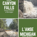 Canyon Falls L'Anse Michigan Grand Canyon of Upper Michigan