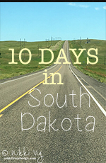 10 Days in South Dakota Trip