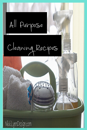 All Purpose Cleaning Recipes