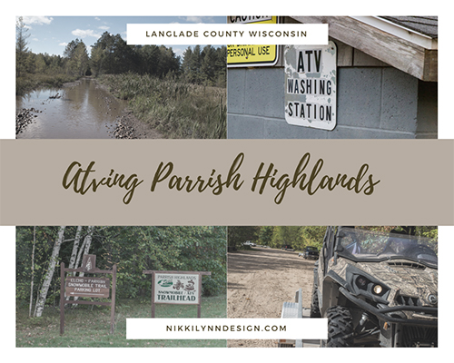 Parrish Highlands ATV Trail in Langlade County