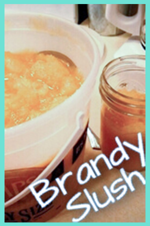 Brandy Slush Drink Recipe