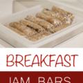 Breakfast Jam Bars Recipe
