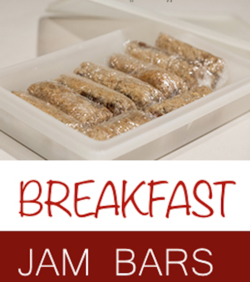Breakfast Jam Bars Recipe