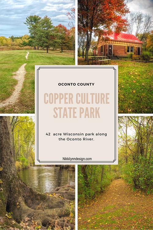 Copper Culture State Park in Oconto County Wisconsin
