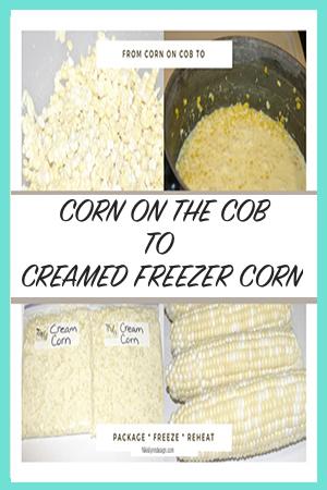 Corn on the Cob to Creamed Freezer Corn