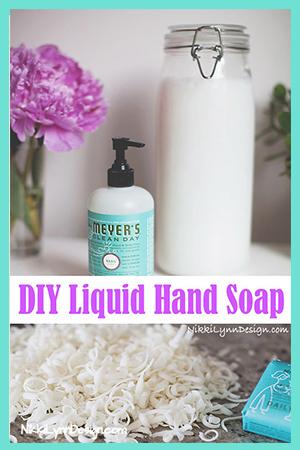 DIY Liquid Hand Soap