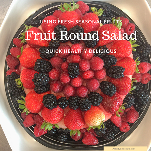 Fruit Round Salad Recipe