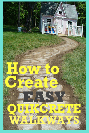 How to Create Easy QuikCrete Walkways