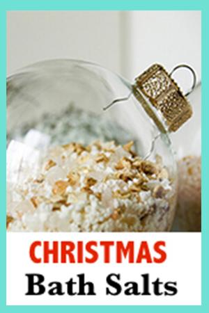 Christmas Balt Salts in an Ornament