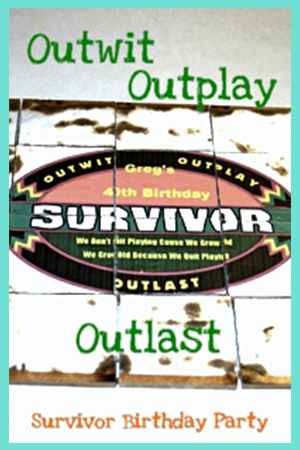 Survivor Birthday Party