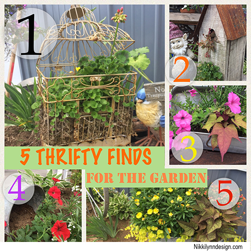 Thrifty Finds for the Garden