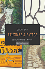 Quikrete Cement Walkways