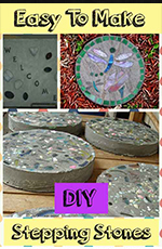 diy stepping stones
