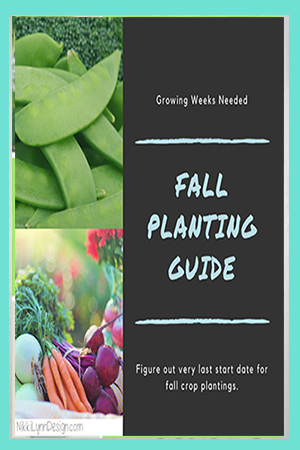 Fall Planting Guide to Figuring Out How Many Growing Weeks are Needed