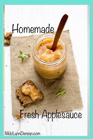 Fresh Homemade Applesauce Recipe