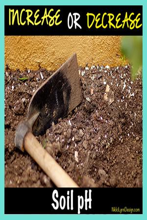 How to Increase or Decreas the PH of Your Garden Soil