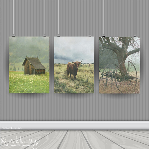 White Rock Ranch Rural Collection Fine Art Prints