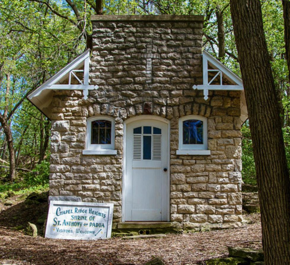 Chapel Ridge Heights Shrine of St Anthony of PADUA Cofrin Memorial Arboretum Green Bay Wisconsin