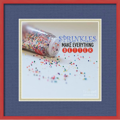 Quote Photography Sprinkles Make Everything Better