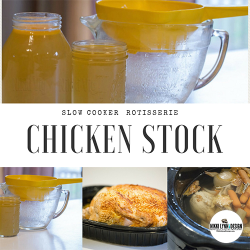 Slow Cooker Rotisserie Chicken Stock Recipe