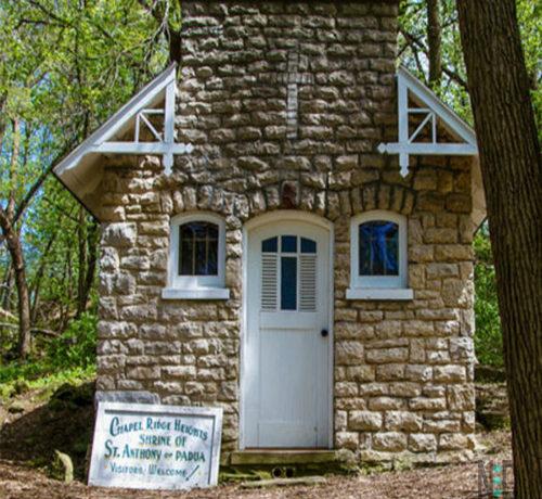 Chapel Ridge Heights Shrine of St Anthony of PADUA Green Bay