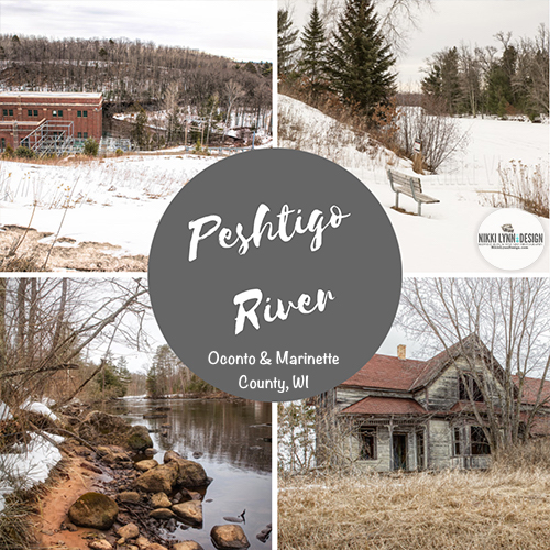 Sunday Drive in Early March - Peshtigo River and Caldron Falls Dam