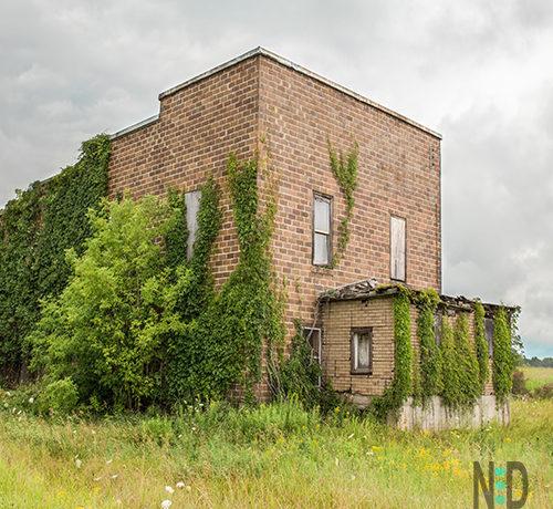 Old Brick Building in Oconto County