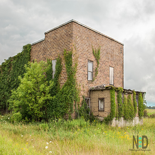 Old Brick Building in Oconto County