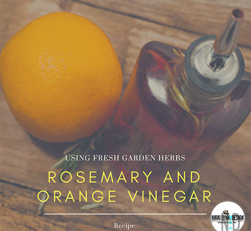 Rosemary and Orange Vinegar Recipe