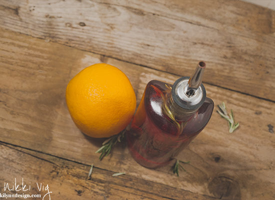 Rosemary and Orange Vinegar