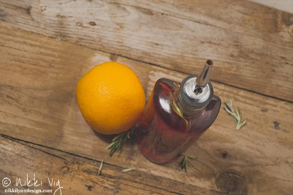 Rosemary and Orange Vinegar