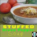 Stuffed Green Pepper Soup I Nikki Lynn Design