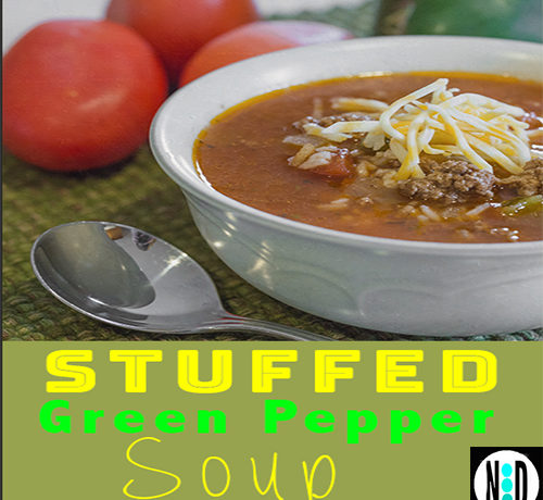 Stuffed Green Pepper Soup I Nikki Lynn Design
