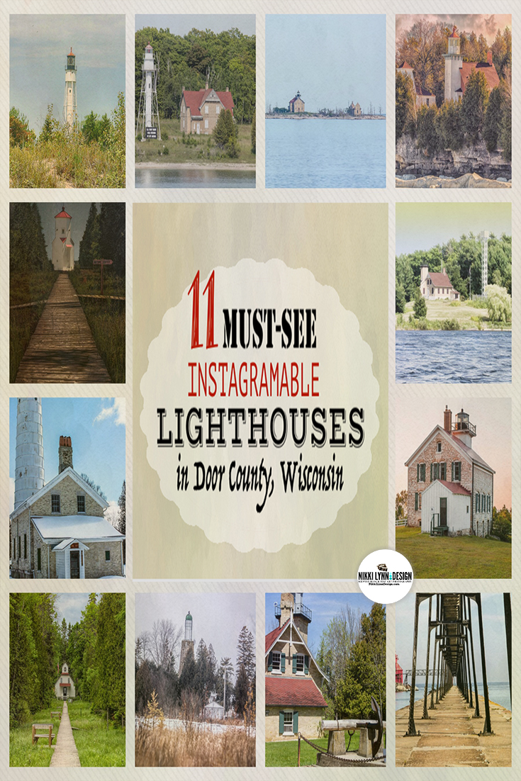 11 Must-See Lighthouses in Door County Wisconsin - Highly Instagramable