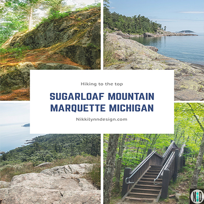 Hiking to the Top of Sugarloaf Mountain Marquette Michigan Upper Michigan Travel
