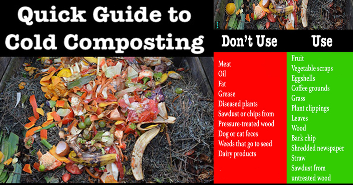 Quick Guide to Cold Composting