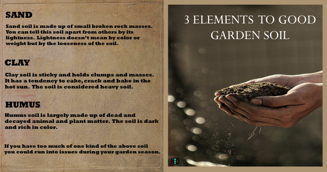Elements to Good Soil
