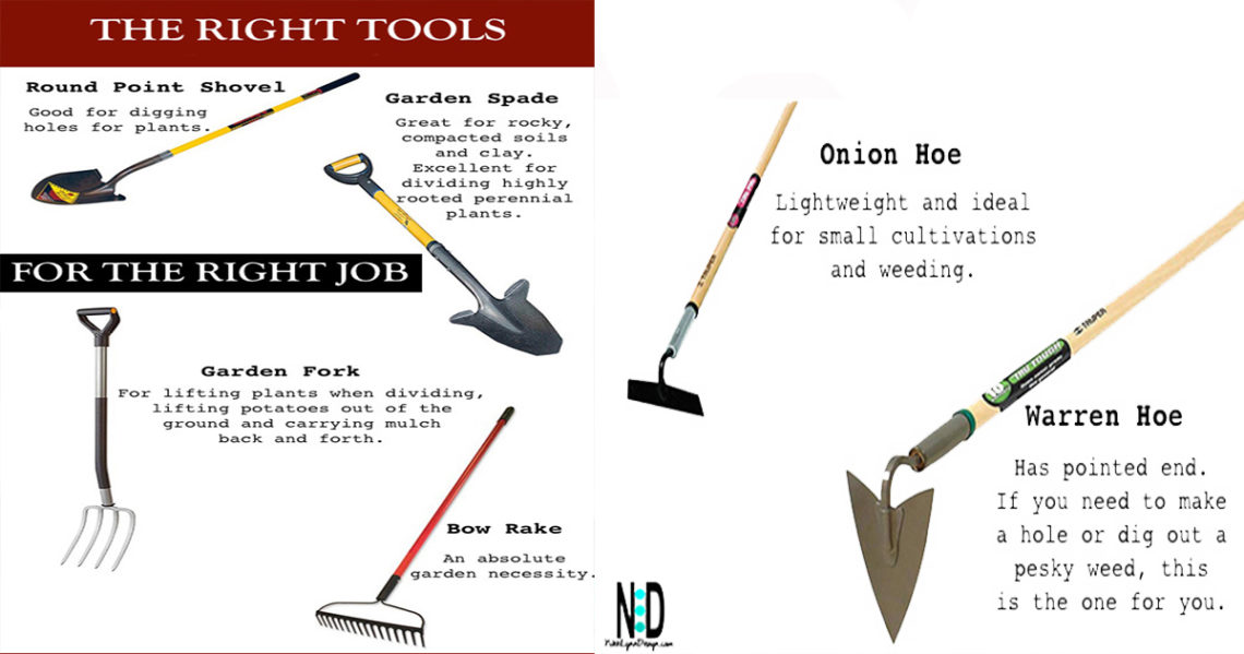 Picking the Right Gardening Tools