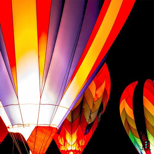 Seymour Wisconsin Balloon Rally Glow